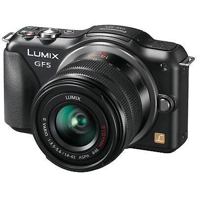 "Panasonic DMC-GF5K Fotocamera Digitale 12mp con Obiettivo 14-42 mm display 3"""