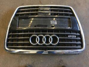 Audi-A8-4E-Kuehlergrill-Grill-Komplett-mit-Parksensoren-Distronic-4E0853651AB