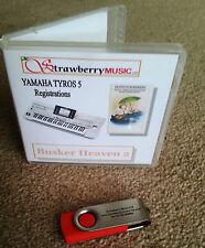 Busker Heaven 2 (800+ REGISTRATIONS) USB registick Yamaha TYROS 5 regi stick USB
