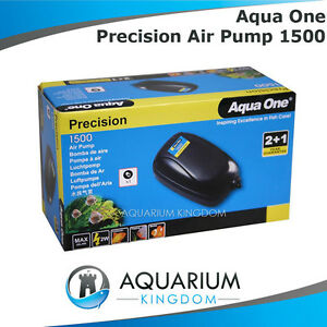 Aqua-One-Precision-1500-Aquarium-Air-Pump-Fish-Tank-Aerator-Oxygen-Bubbles