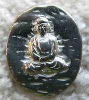 10 Buddhas Pewter Pocket Buddha Coin/token