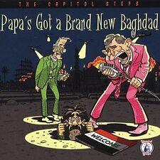 Capitol Steps Papas Got a Brand New Baghdad CD Humor 2004 Shrink Wrapped