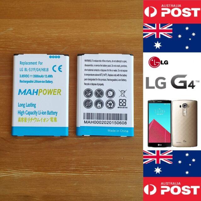 LG G4  Battery MAHPower High Capacity Battery BL-51YF 3500mAh Quality - Local