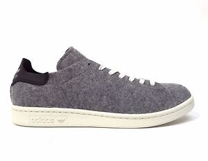 sale retailer f7aa6 5b5e7 Adidas Men's STAN SMITH PC WOOL WINTER Shoes Grey AQ8452 a | eBay