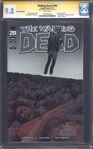 WALKING DEAD #100 (Chromium Variant) CGC 9.8 SS / Signed by Kirkman! 1st Negan!