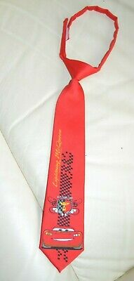 Krawattenbinden ,krawatte, Kinder, Jungen,rot,mc Queen