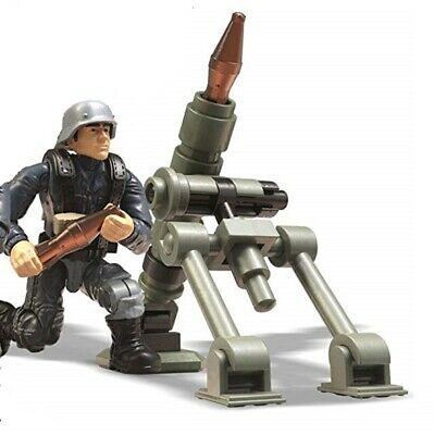 Call of Duty COD Mega Construx Set #FVG04 Enemy German Soldier Brown with Rifle