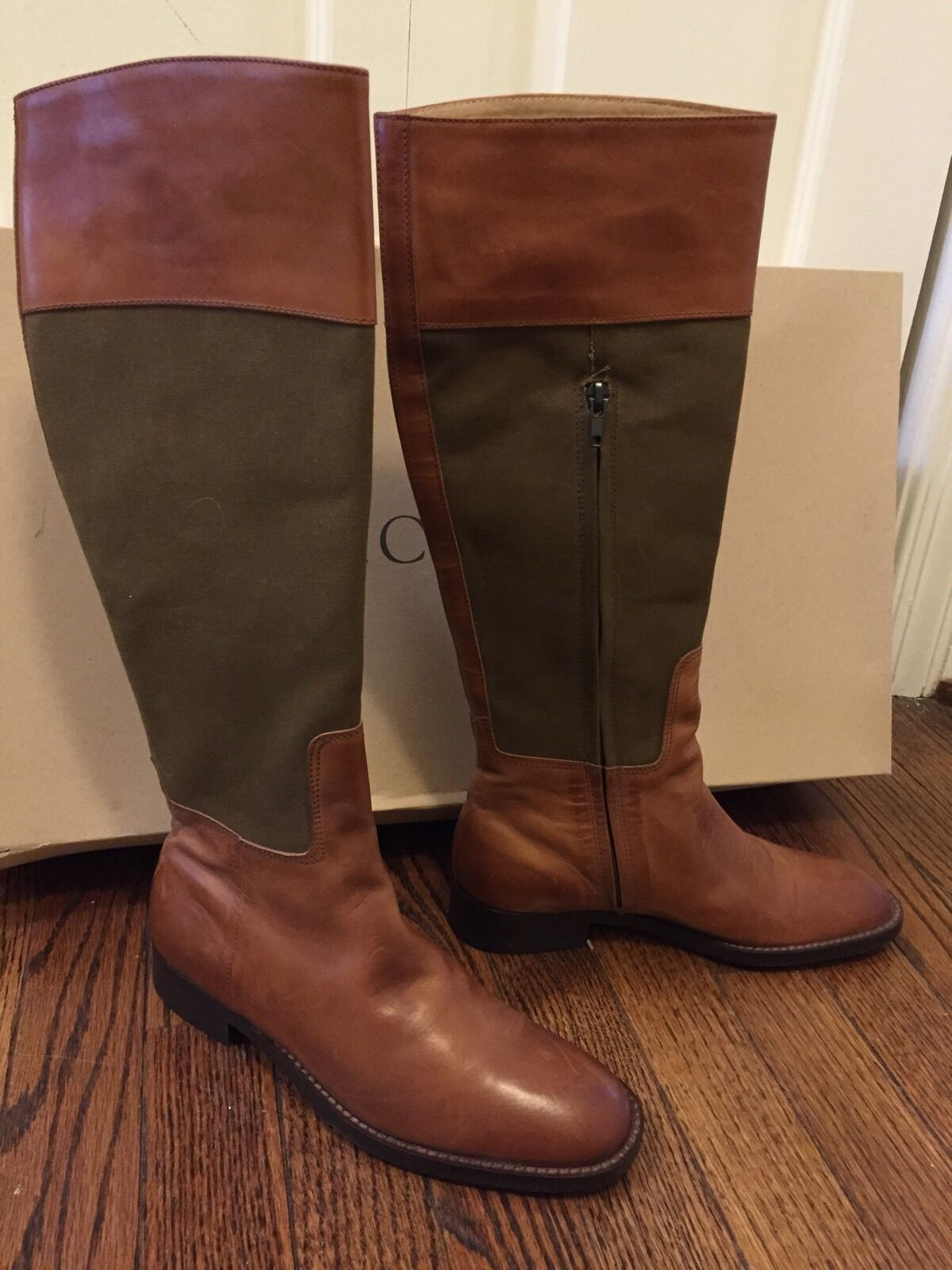 J. Crew Knee High Boots Size 5.5 Retail  358 Brand new