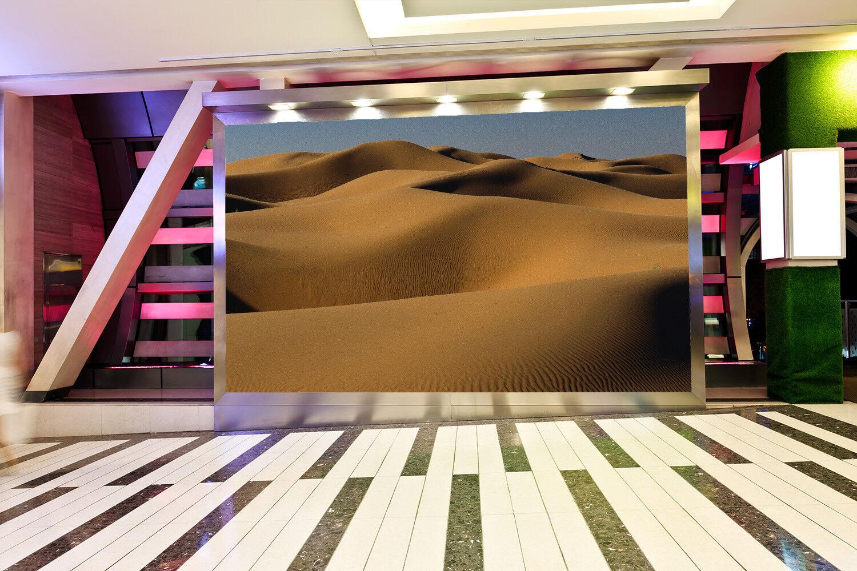 3D Wellen Wüste 96  Tapete Wandgemälde Tapete Tapeten Bild Familie DE Summer  | Schöne Kunst  | Spielzeugwelt, fröhlicher Ozean  | Maßstab ist der Grundstein, Qualität ist Säulenbalken, Preis ist Leiter