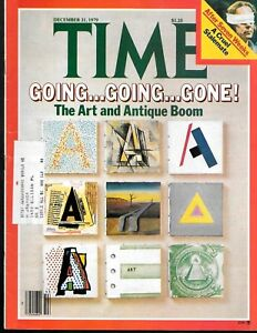 Time Magazine December 31 1979 Art And Antique Auction Boom Hostages In Iran Ebay