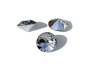 EIMASS® 3595 Cut Glass Foiled & Unfoiled Chatons, Table Diamonds,Gems, Crystals