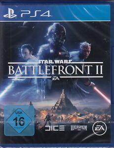 Star-Wars-Battlefront-2-fuer-Sony-PlayStation-4-PS4-Neu-amp-OVP-Deutsche-Version