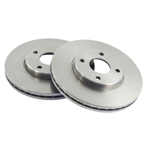 Pair D161 EBC Front OE OEM Ultimax Standard Replacement Brake Discs