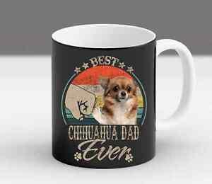 Funny Chihuahua Owner Mom Dad Gift Christmas Fur Vintage Coffee Mug