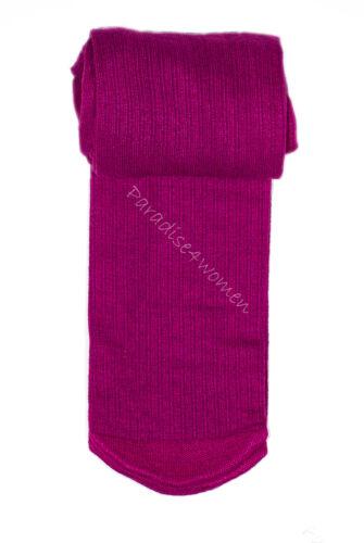 Filles côtelé collants 100 deniers douce chaleur fibres naturelles âge 2-11 Knittex