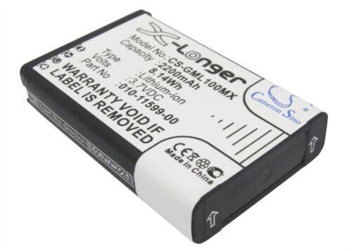 Replacement Battery 2200mAh 3.7V For Garmin VIRB Virb Elite Actio VIRB Elite