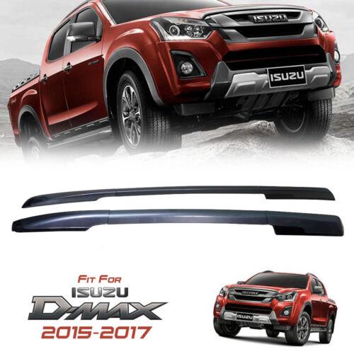 UPPER DARK GREY ROLL BAR ROOF BAR RACK FOR ISUZU D-MAX DMAX 2015 2016 2017 2018