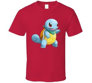 fff92a72 Pokemon Squirtle Fun Kids T-Shirt Novelty Nintendo Go Fashion Gift ...
