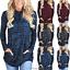 Women-039-s-Long-Sleeve-Hoodie-Sweatshirt-Sweater-Hooded-Jumper-Coat-Pullover-Tops thumbnail 2