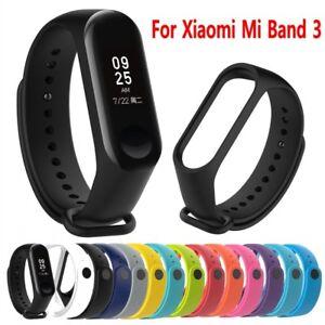Details about New For Xiaomi Mi band 3 Silicone Wrist Strap WristBand  Bracelet