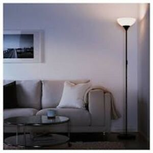 New ikea tall floor standing lamp reading light up lighter not black image is loading new ikea tall floor standing lamp reading light mozeypictures Gallery