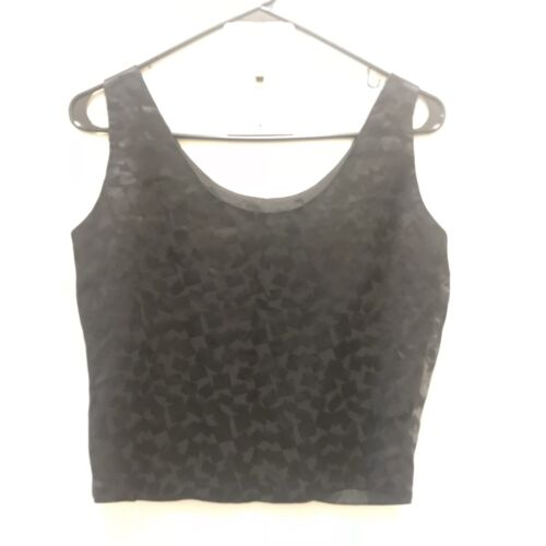 Vintage Rudi Gernreich 1970's Sleeveless Black Top
