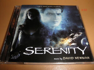 SERENITY-firefly-movie-SOUNDTRACK-cd-DAVID-NEWMAN-joss-whedon-nathan-fillion-OST