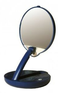 Floxite Lighted Travel Compact Mirror Adjustable Table