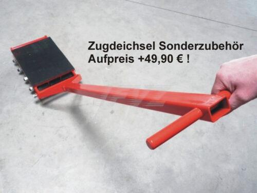 Transportrollen Transportrolle Maschinenrolle Schwerlastroller Panzerrolle 18t