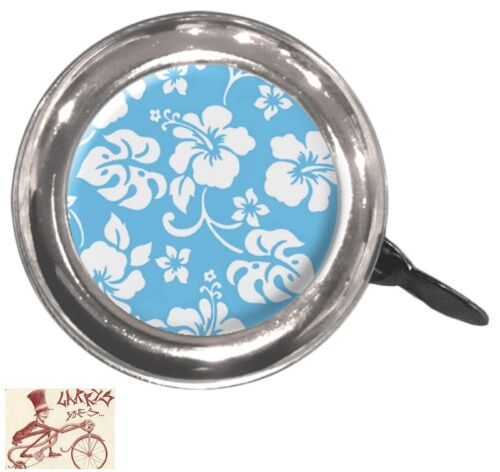 CLEAN MOTION SWELL FLOWERS BLUE BICYCLE BELL