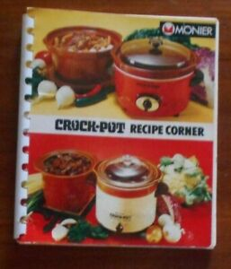 Crockpot Recipes: 50 Quick & Easy Crock Pot Recipe by ... |Vintage Recipe Book Crock Pot