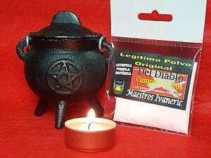 """""""DEL DIABLO"""" Legitimo Polvo Original 20g aprox / POWDER OF THE DEVIL 20g approx."""