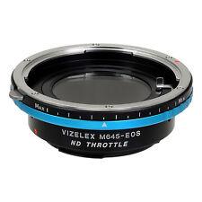 Fotodiox objetivamente adaptador pro ND Mamiya 645 (m645) lente para Canon EOS cámara
