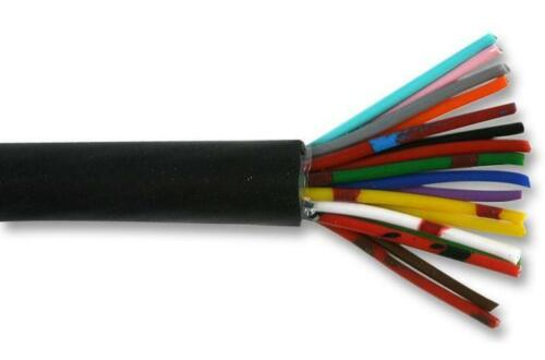 Black 25m PP000284 18 Core Unscreened Multicore Cable 0.22 mm²