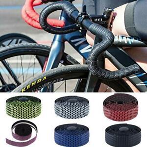 2 Pcs Cycling Road Bike Cork Handlebar Tape Bandage Wraps Bent Bar EVA Grips
