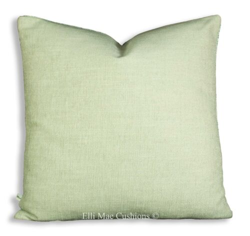 Luxury Designer Sage Green Chevron Fabric Cushion Cover Throw Pillow