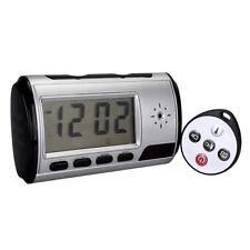 Digital Spy Camera Alarm Clock Hidden Video Camera Cam DVR Motion Detector MT