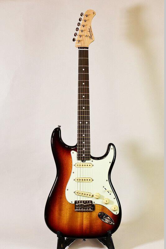 Bacchus BST-650B 3TS E-Gitarre Japan schöne Vintage beliebt EMS F   S