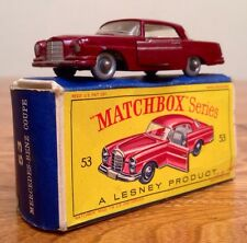 """MATCHBOX"" Series #53 - Mercedes-Benz Coupe (1963) w/ Original Box"