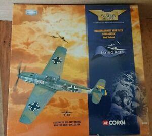 Corgi 49202 Messerschmitt 109f Jg 26 Adolf Galland Ltd Modifier N °.   6021 ou 6100