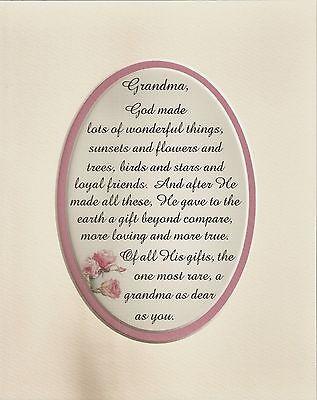 GOD MADE Loving AUNT Family BEAUTIFUL Rare Loyal Dear Friend verses poem plaques