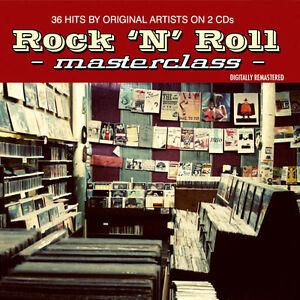 ROCK-AND-ROLL-MASTERCLASS-NEW-2-CD-36-HITS-FROM-THE-50s-60s-ROCK-N-ROLL