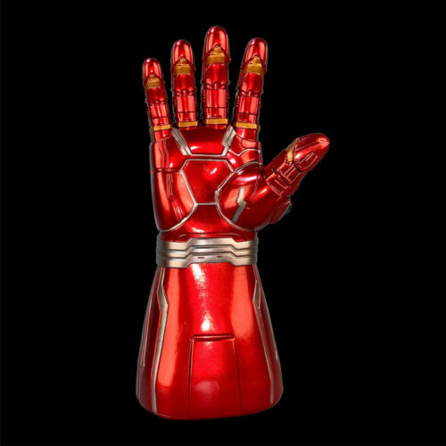 Kids Adults Iron Man Infinity Gauntlet Cosplay Arm Thanos LED Gloves Avengers 4