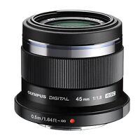 Olympus Pen M.zuiko Digital 45mm F/1.8 Mft (black) Lens