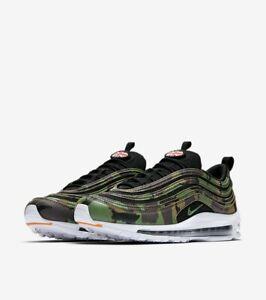 Dettagli su Nike Air Max 97 Premium QS Scarpe Da Ginnastica Scarpe CamoVerdeNero AJ2614 201 UK 6 EU 40 mostra il titolo originale
