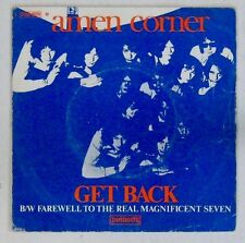 Interprètes Beatles 45 tours Amen Corner Get Back 1969