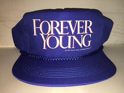 100% QualitäT Vtg Forever Young Snapback Hut Mütze 1992 Mel Gibson Jamie Lee Curtis 90er Jahre Einfach Zu Verwenden