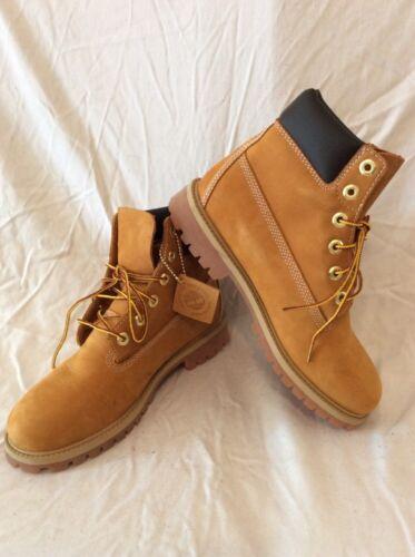 cuero 6 de botas 5 beige del tobillo Timberland tamaño P17wSqAS