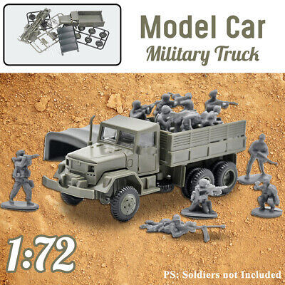 4D Assembly Model 1:72 Simulation Toy Chariot U2A1