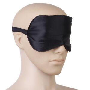 57d287fde Pure Silk Hand Washable Eye Mask Eye Patch Adjustable Elastic Head ...